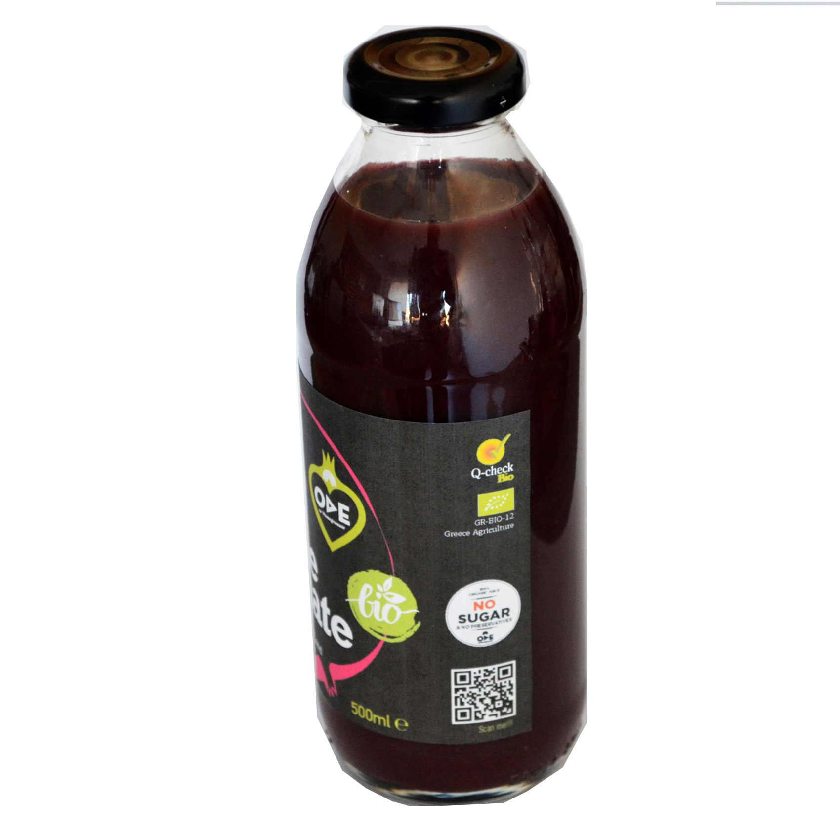 ODE ORGANIC POMEGRANATE JUICE 500ML