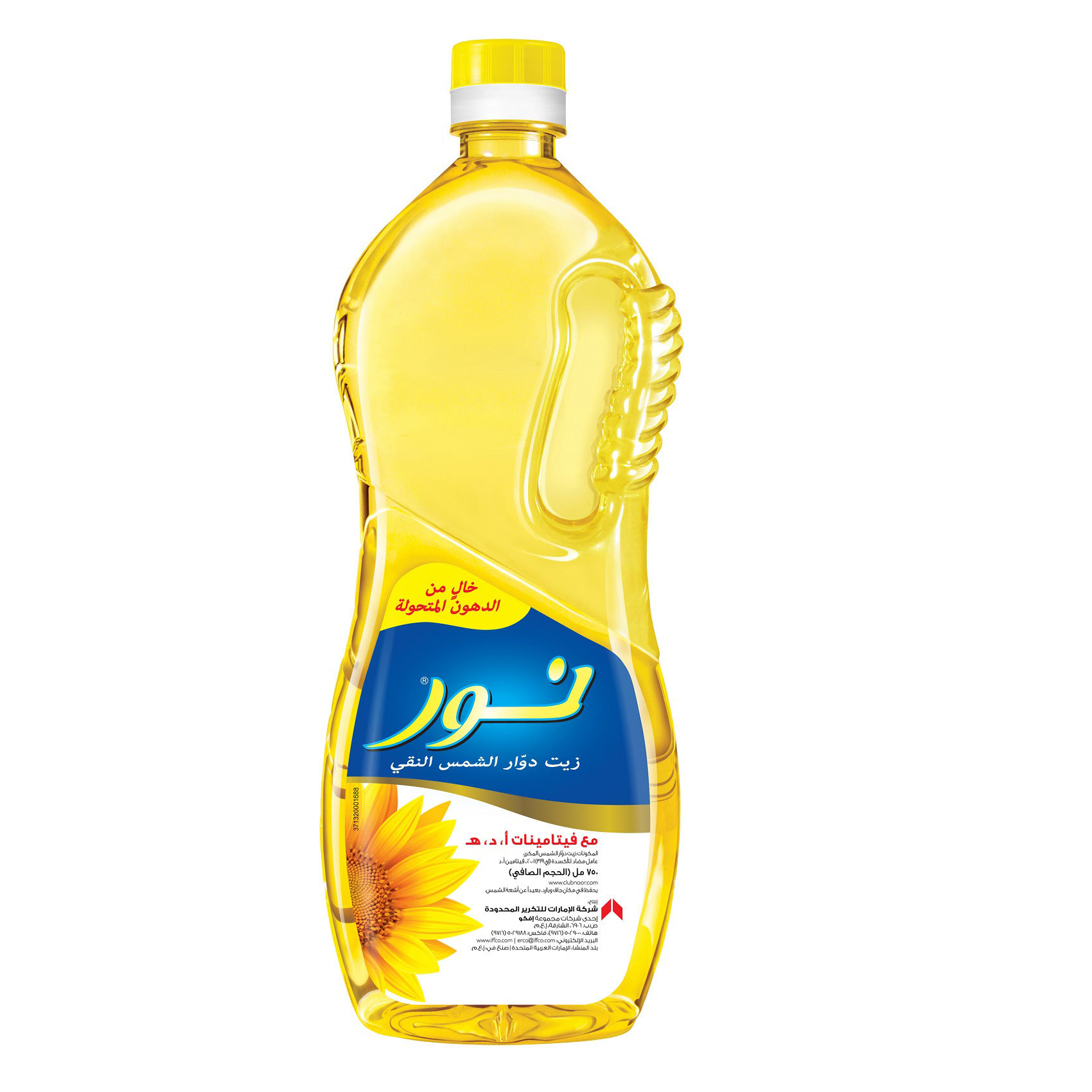 NOOR SUNFLOWER OIL 750ML