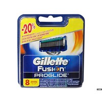 Gillette Fusion ProGlide Manual Blades Refill Pack Of 8