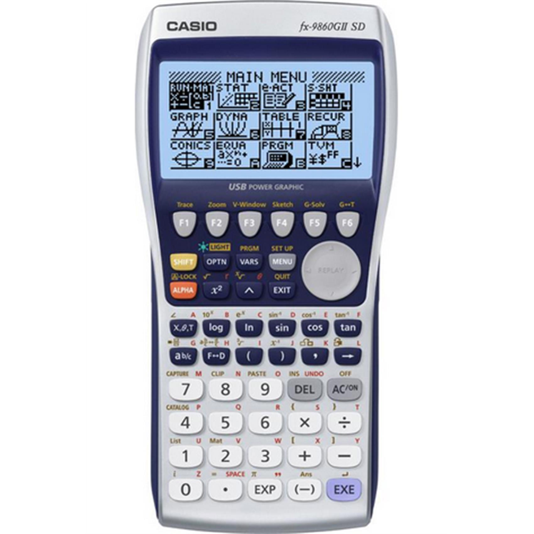 CASIO FX-9860GIISD GRAPHIC