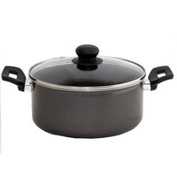 Alfa Casserole With Lid 28Cm Non Stick Grey