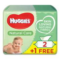 Huggies Baby Wipes Natural Care 56 Wipes x3