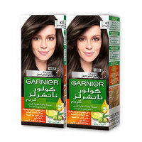 Garnier Color Naturals Creme Hair Coloring Ashy Brown 4.1 X2 -15% Off