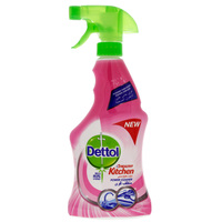 Dettol Disinfectant 4In1 Rose Kitchen Cleaner 500ml