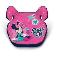 Disney Minnie Mouse Net Booster Car Seat With Dots