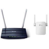 TP-Link Wireless Router Archer 50 AC1200+Range Extender RE305 AC1200