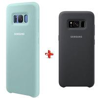 Samsung Case S8 Plus Grey + Samsung Case S8 Plus Blue