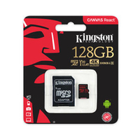 Kingston MicroSD Card With Adapter Class 10 128GB