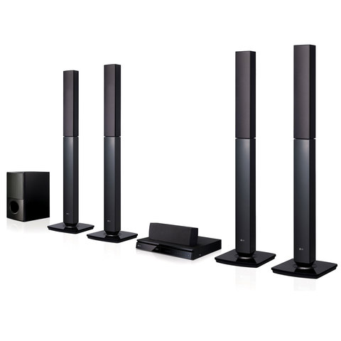 LG-Home-Theater-System-LHD657-5.1-Channel-With-Tall-Boy-Speaker