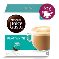 Nescafe Dolce Gusto Flat White Coffee 16 Capsules