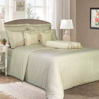 Cannon Single Comforter 3pc Set  Light Beige