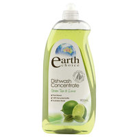Earth Choice Dishwash Concentrate Green Tea & Lime 900ml