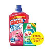 Der General Floor Cleaner Rose 1.5L +Persil Gel