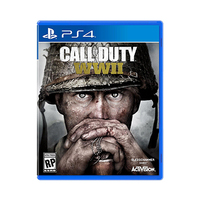 PS4 Call Of Duty World At War II Disk