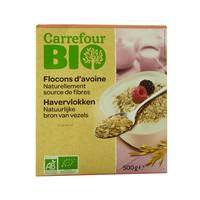 Carrefour Bio Organic Oat Flakes 500g