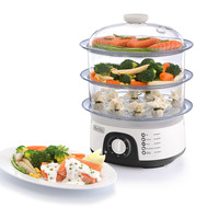 Black+Decker Food Steamer HS6000-B5