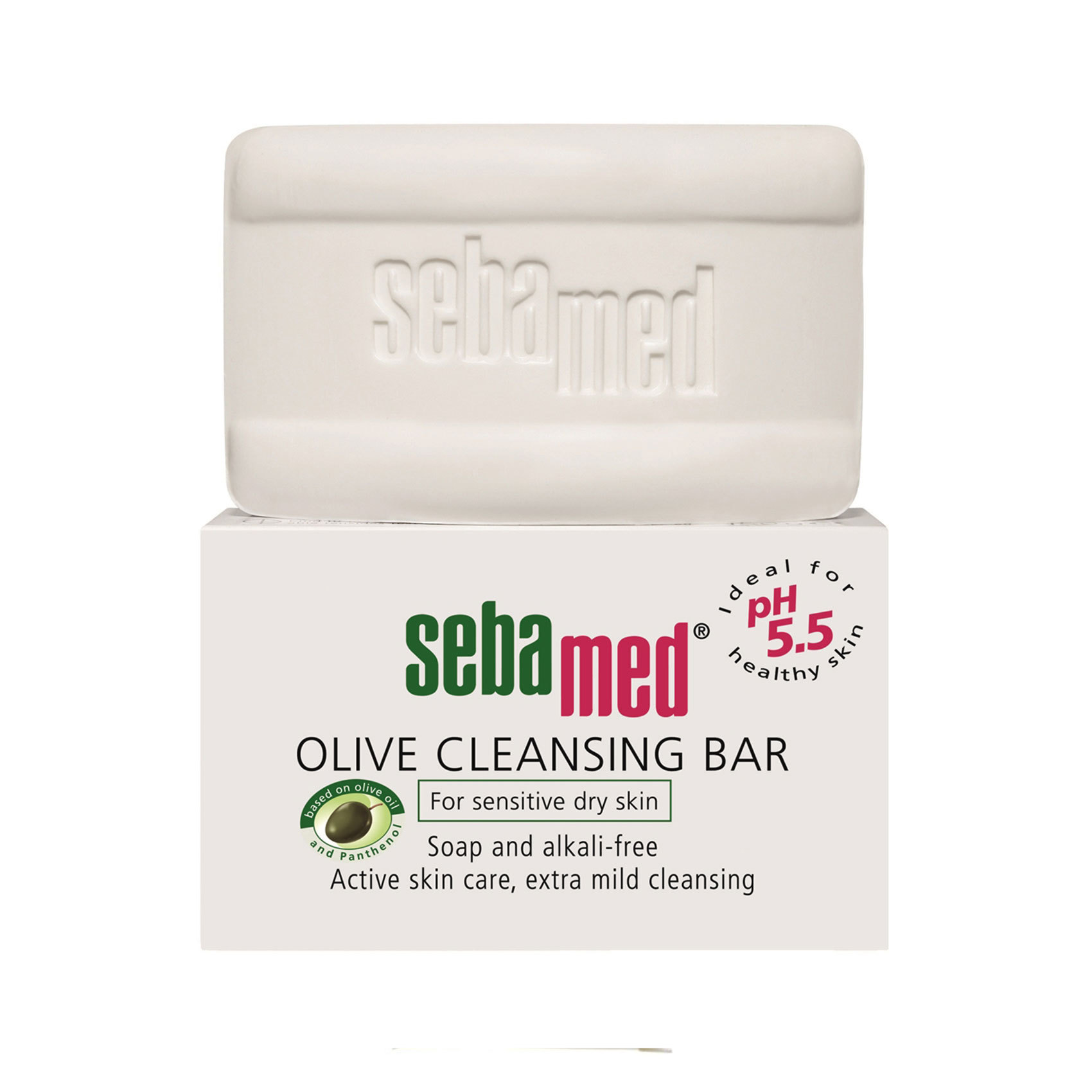 SEBAMED OLIVE CLEANING BAR 150 GM