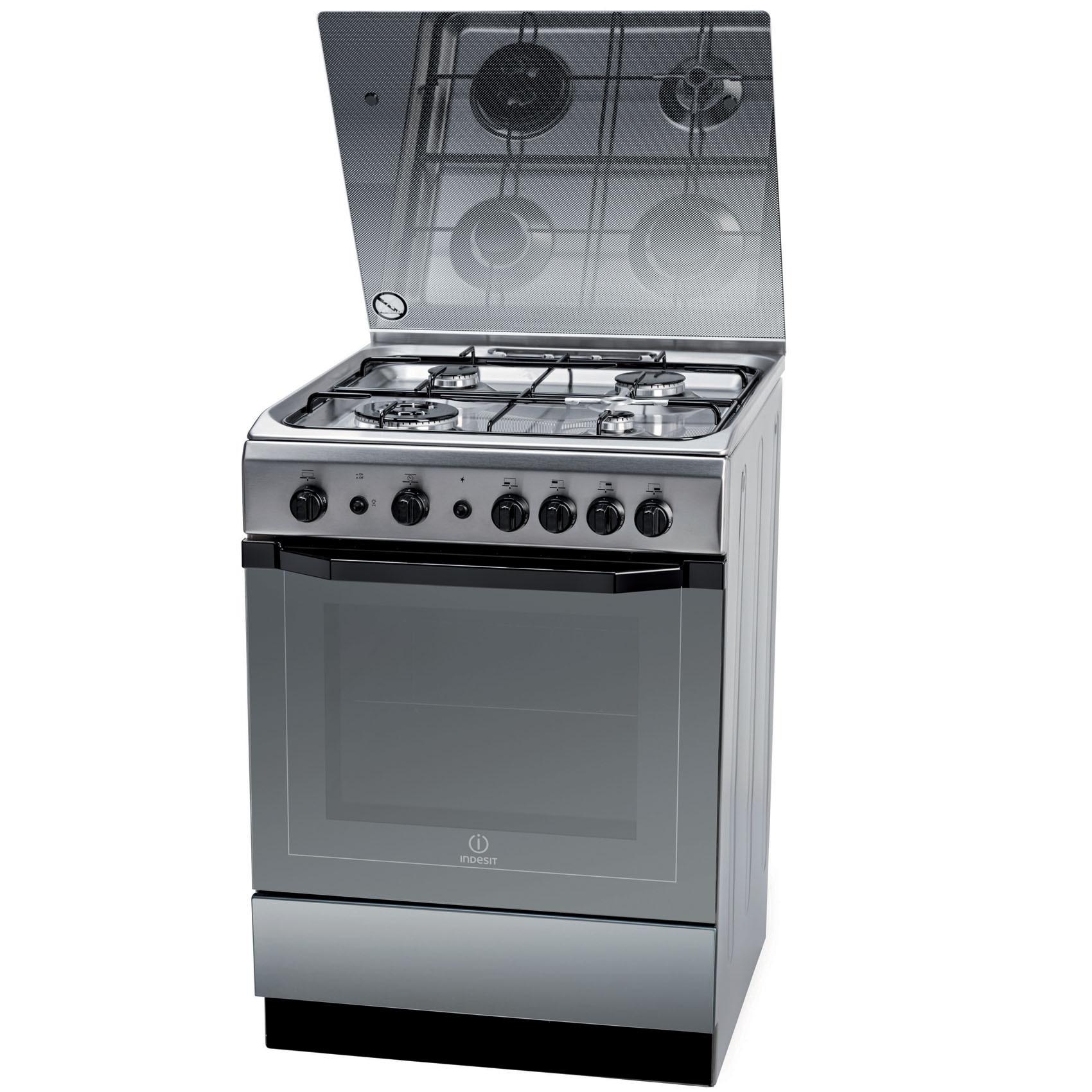 INDESIT COOKER I6TG1GKXEX 60X60CM