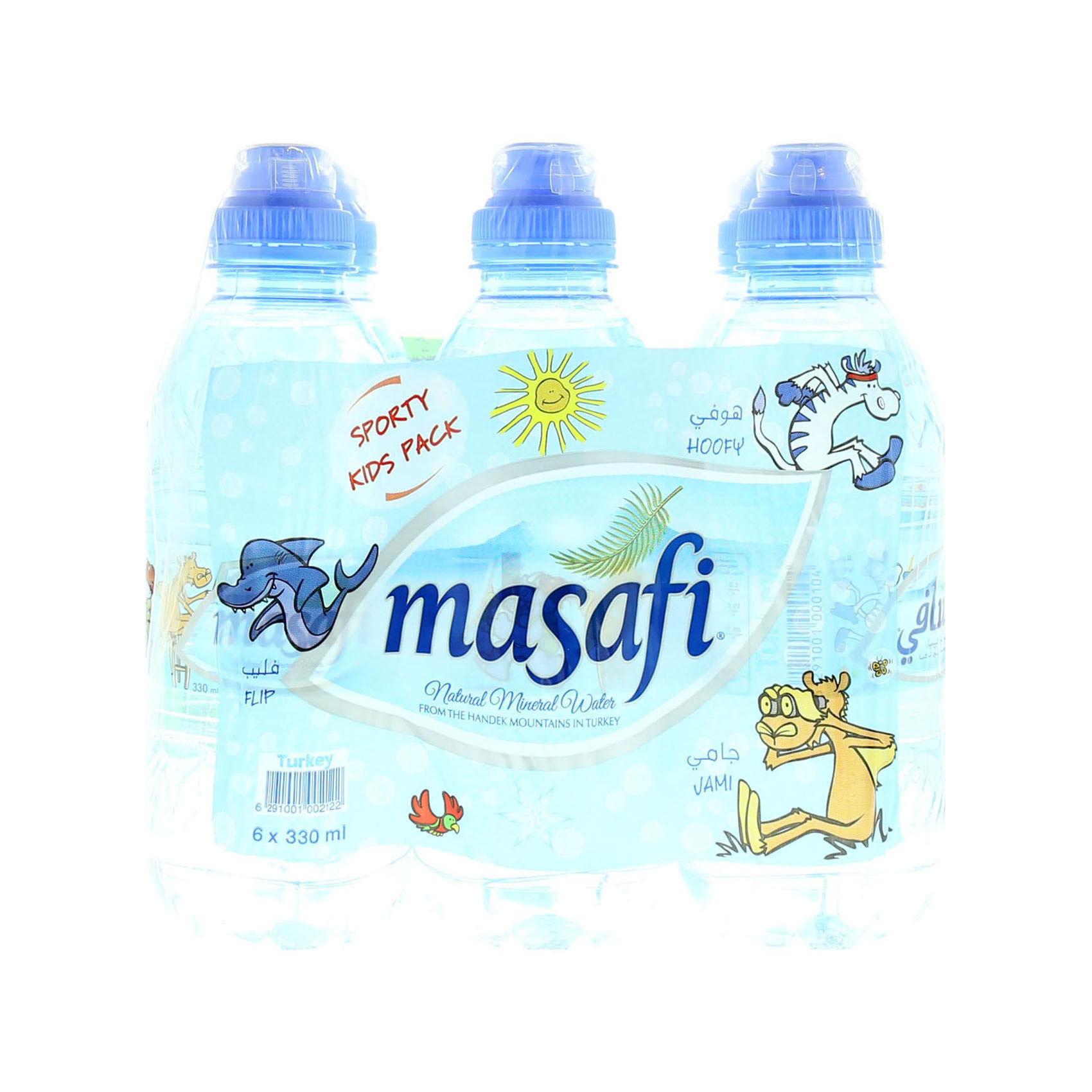 MASAFI MINERAL WATER SPORTS 330MLX6
