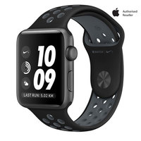 Apple Watch Series 2 Nike+ 38 Space Gray Aluminium Case With Black Gray Nike Sport Band