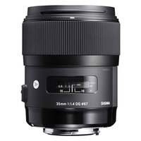 Sigma Lens 35MM F/1.4 DG HSM ART For Nikon