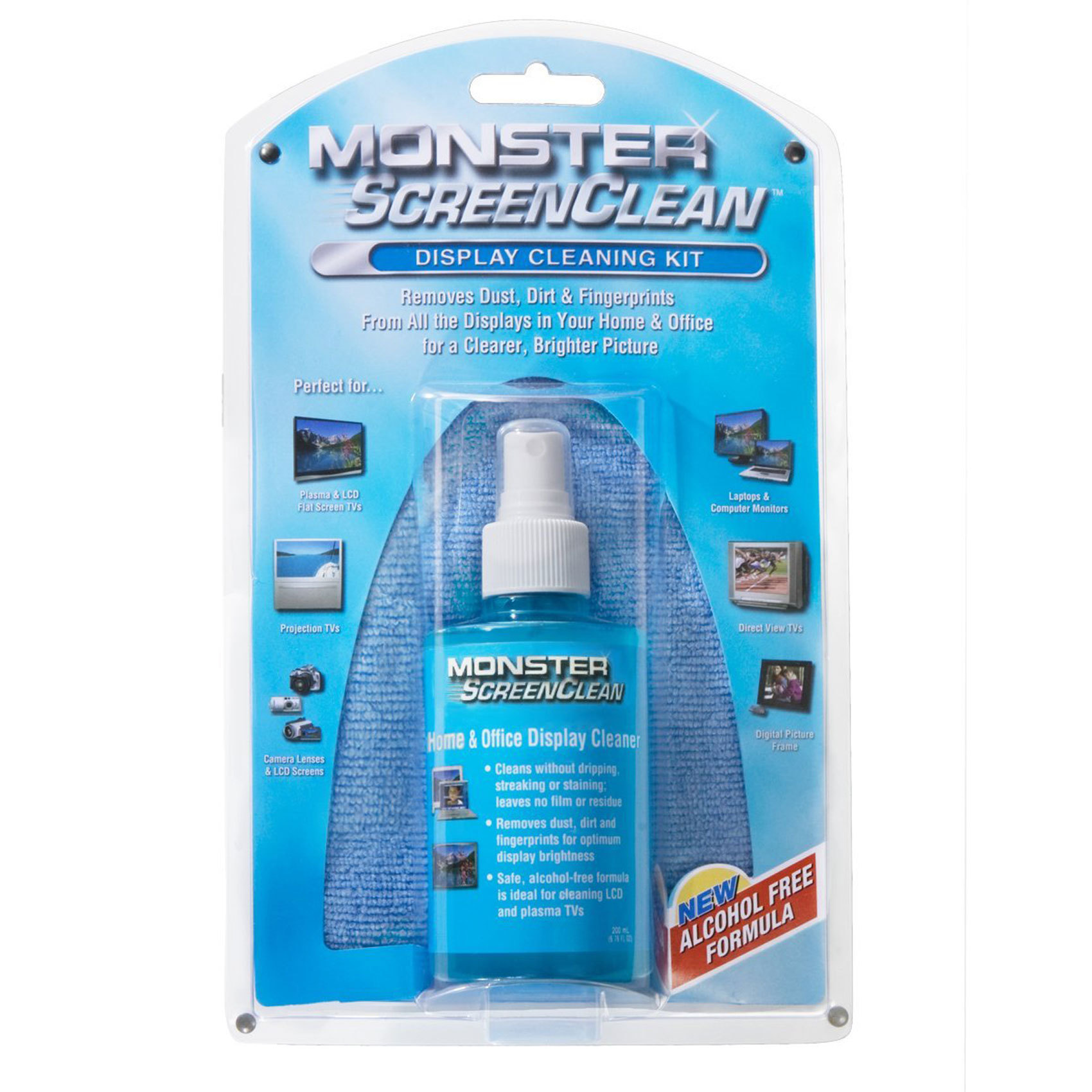 MONSTER SCREEN TV CLEANING KIT