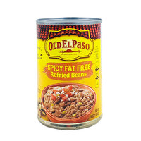 Old El Paso Spicy Fat Free Refried Beans 453g