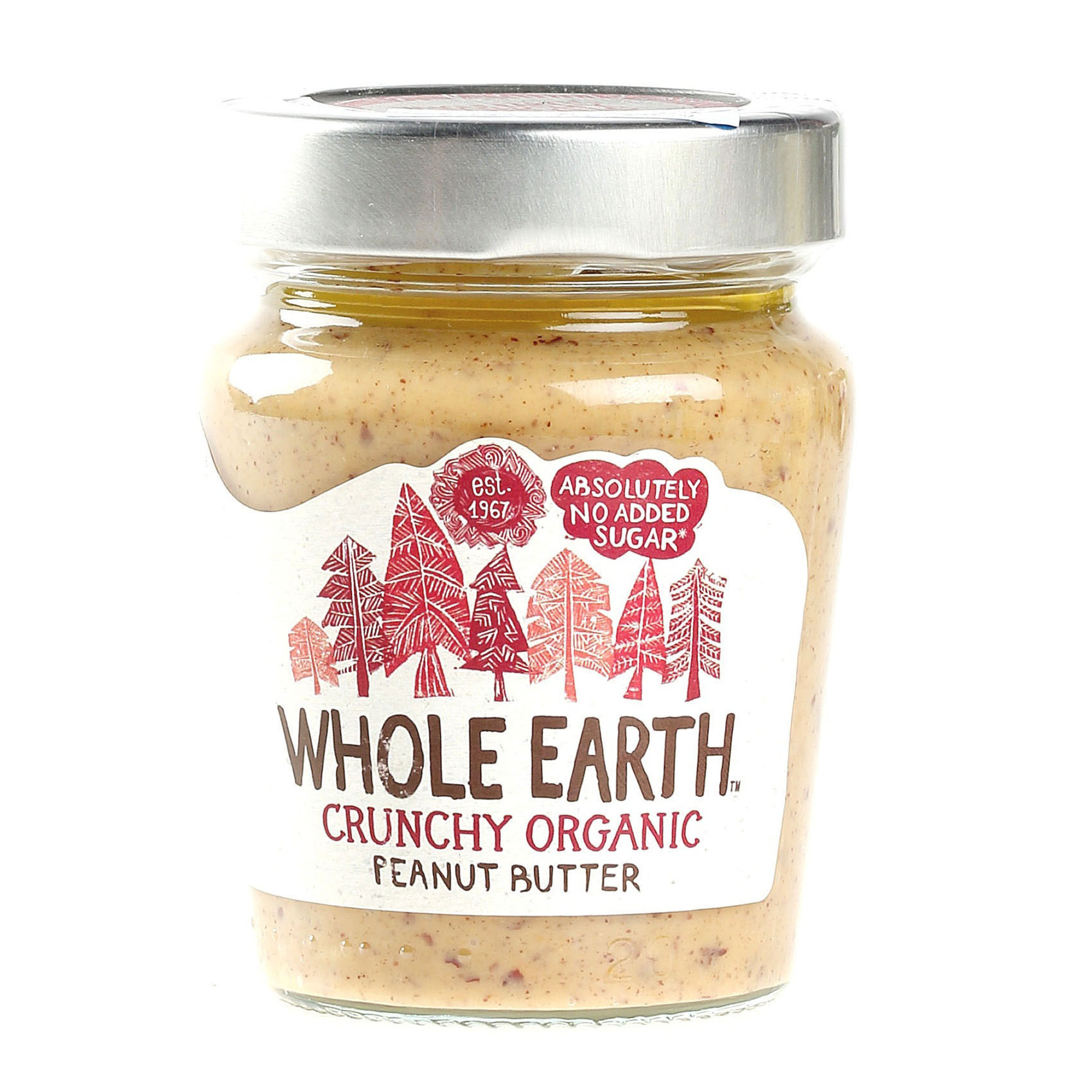 W/EARTH ORG CRNCHY P/NUT BUT 227G