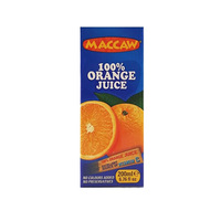 Maccaw Orange Juice Slim 200ML