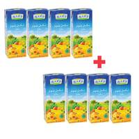 BUY 4 + 4 FREE Lacnor Essentials Assorted Juice 180ml