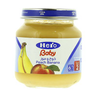 Hero Baby Peach Banana 130 g