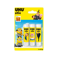 Uhu Stick Ice Age 8.2 Gram Pack Of 3 Pieces