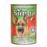 Simba Bocconi Chunks With Meat 415g