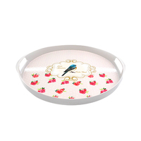 IML Round Tray Assorted Designs/Colors 1603