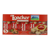 Loacker Napolitaner Crispy Wafers Filled with Hazelnut Cream 225g