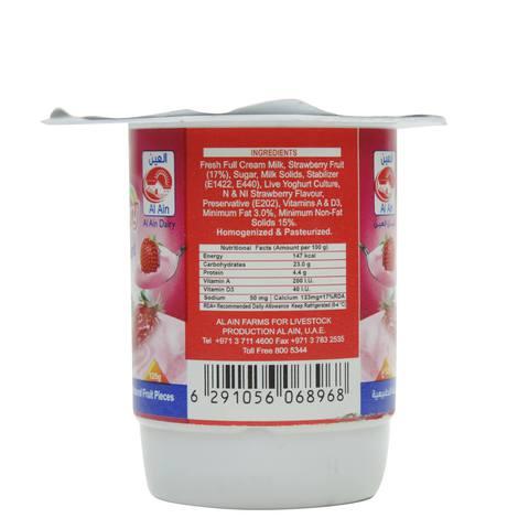Al-Ain-Strawberry-Yoghurt-125g