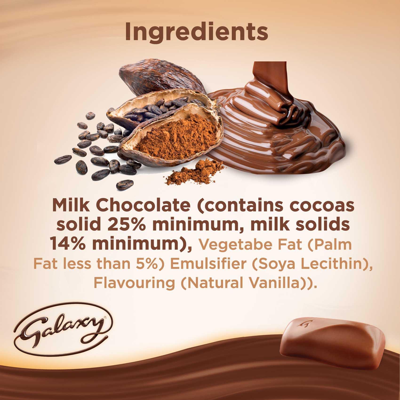 GALAXY CHOCOLATE 40G 4+1