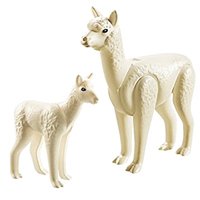 Playmobil Alpaca with Baby Building Kit