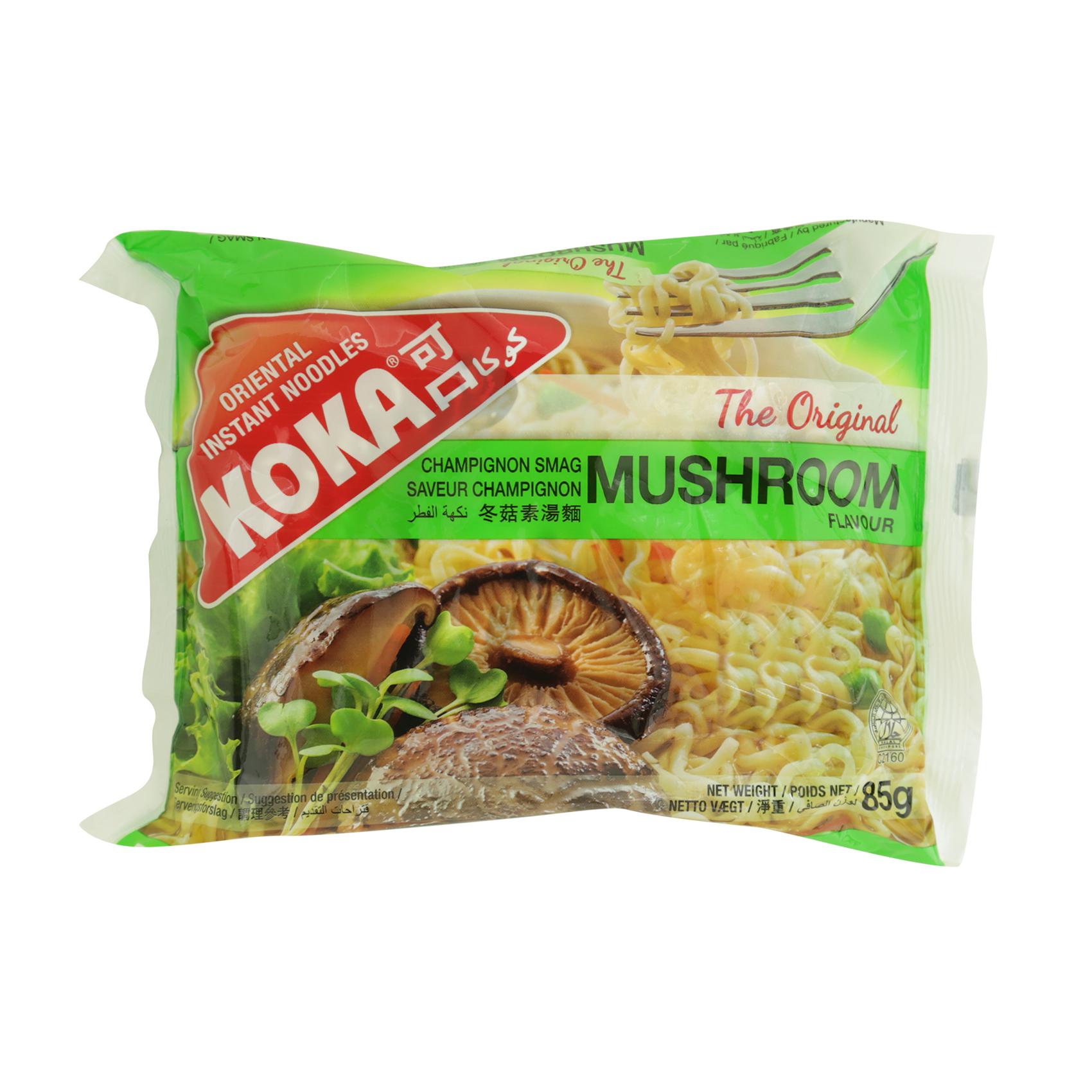 KOKA NOODLES MUSHROOM 85GR
