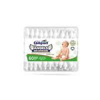 Angels Ultra Compact Baby Cotton Buds 60 Pieces