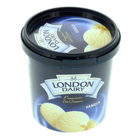 London Dairy Ice Cream Vanilla 125ml