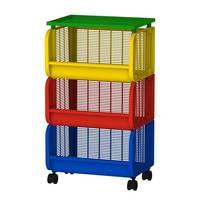 Cosmo Storage 3 Levels Plastic