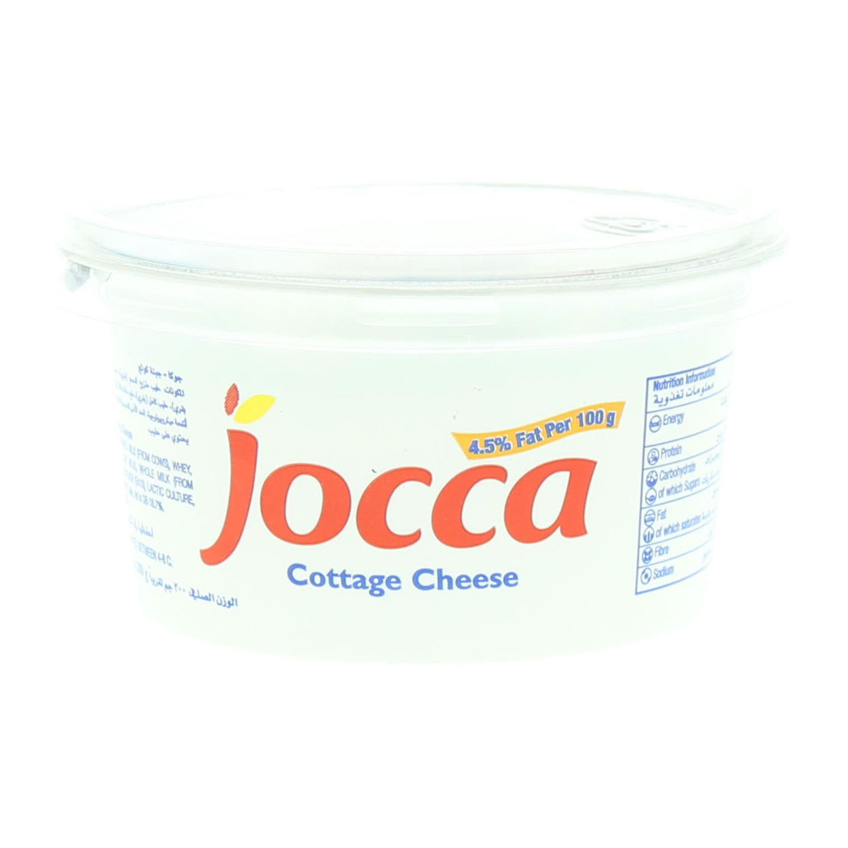 KRAFT JOCAA COTTAGE CHEESE  200G