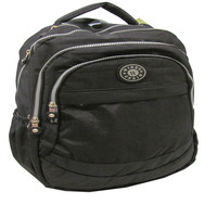 Wires Crinkle Backpackw/Big Zip 18""