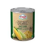 Wadi Sweet Corn Organic 340GR