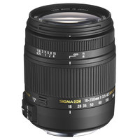 Sigma Lens 18-250MM F/3.5-6.3 DC For Nikon