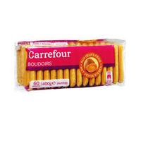 Carrefour Boudoirs Chocolate Dark 400GR