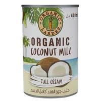 Organic Larder Coconut Milk Full Cream 400ml