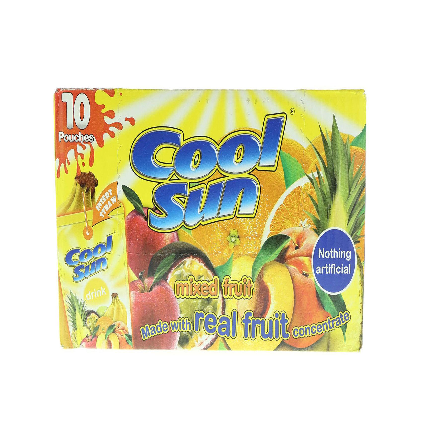 COOL-SUN MIXED FRUIT 10'S