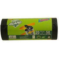 Bacti Guard Garbage Bags 75cm x 103cm 50 Gallons 20 Bags